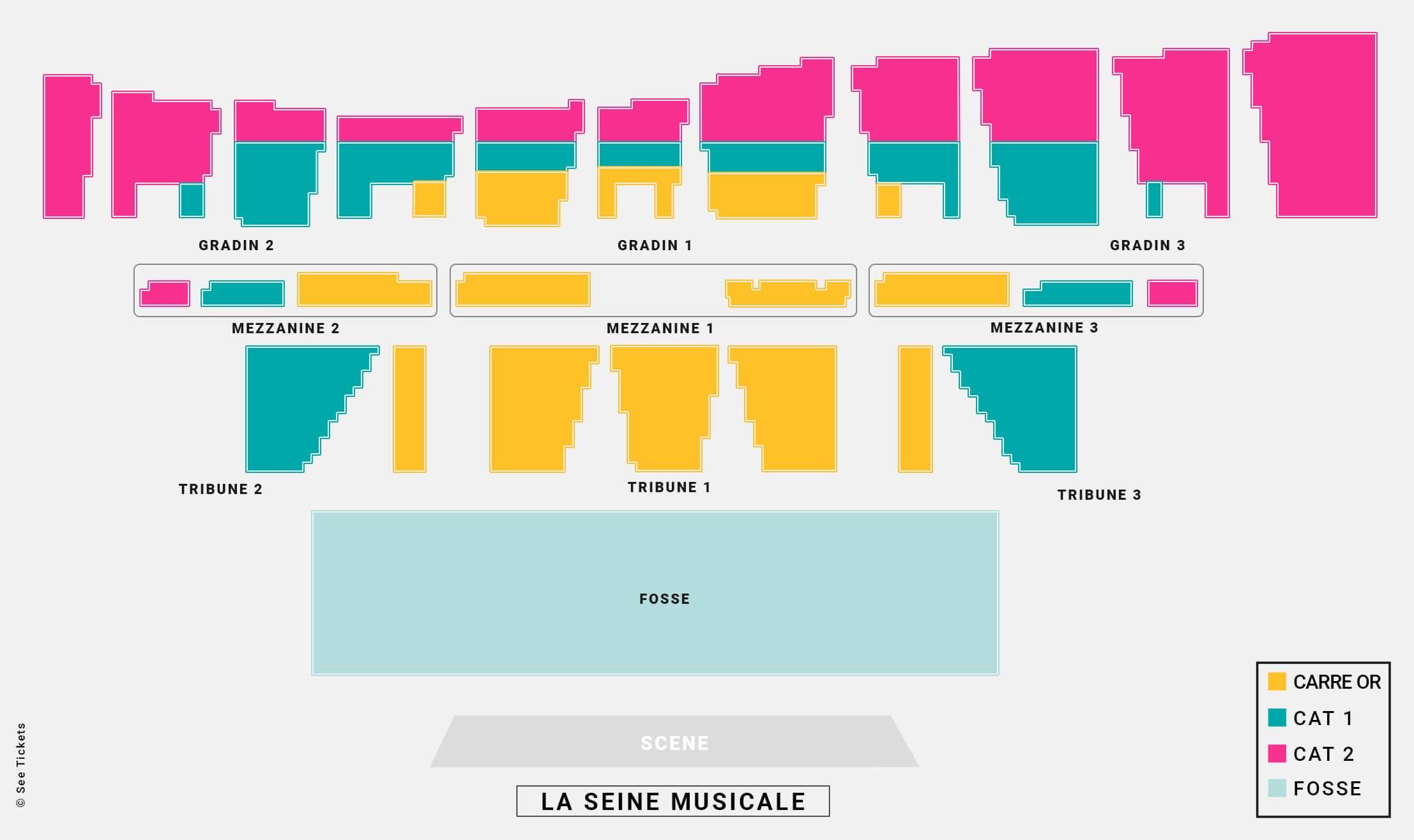 Grande Seine La Seine Musicale