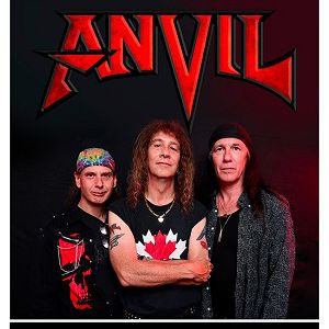 "ANVIL ""Pounding The Pavement Tour 2018"" + Guest @ Le Trabendo - Paris"