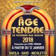 Concert AGE TENDRE à AURILLAC @ Le Prisme - Billets & Places