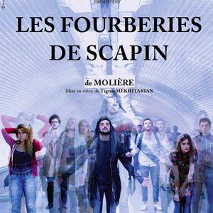 LES FOURBERIES DE SCAPIN @ Théâtre de l'Epée de Bois - PARIS