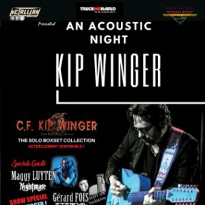KIP WINGER + MAGGY LUYTEN + GERARD FOIS HEART OF ISOLATION @ La Source - Fontaine