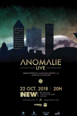 Billets ANOMALIE + BAND - CONCERT - New Morning