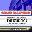 Soirée LE GRAND BAL SWING w/ SWEET MEGG & THE WAYFARERS à Paris @ La Bellevilloise - Billets & Places