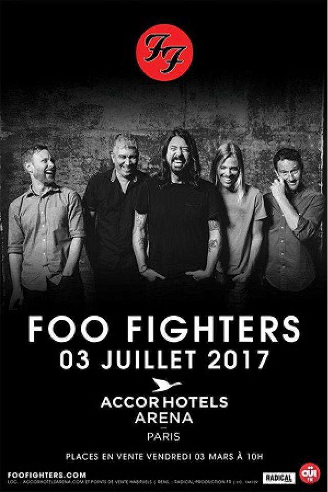 FOO FIGHTERS @ ACCORHOTELS ARENA - PARIS 12