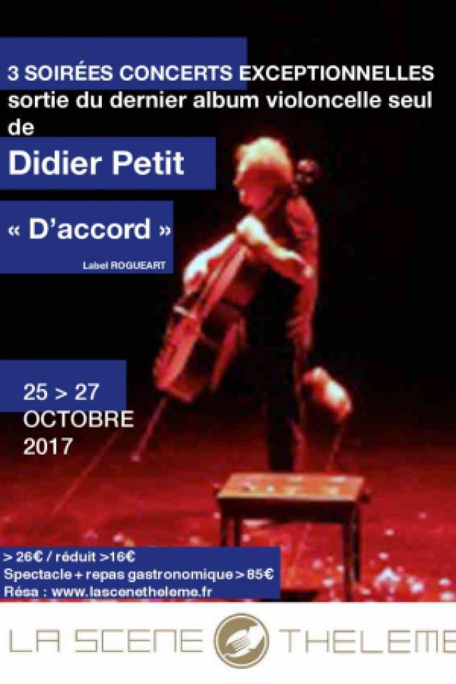 Didier Petit @ La Scène Thélème  - PARIS