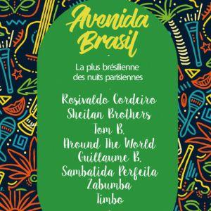 AVENIDA BRASIL : SUR UN AIR DE GUITARRADA AMAZONIENNE @ La Bellevilloise - Paris