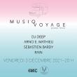 Concert MUSIQ VOYAGE invite DJ DEEP