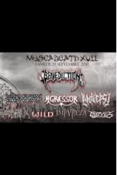 Festival MUSCADEATH XVII : BENEDICTION/ANALEPSY/AGRESSOR/SCD/COLOSSUS ...