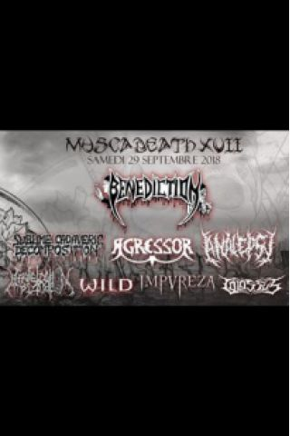 Billets MUSCADEATH XVII : BENEDICTION/ANALEPSY/AGRESSOR/SCD/COLOSSUS ... - Le Champilambart