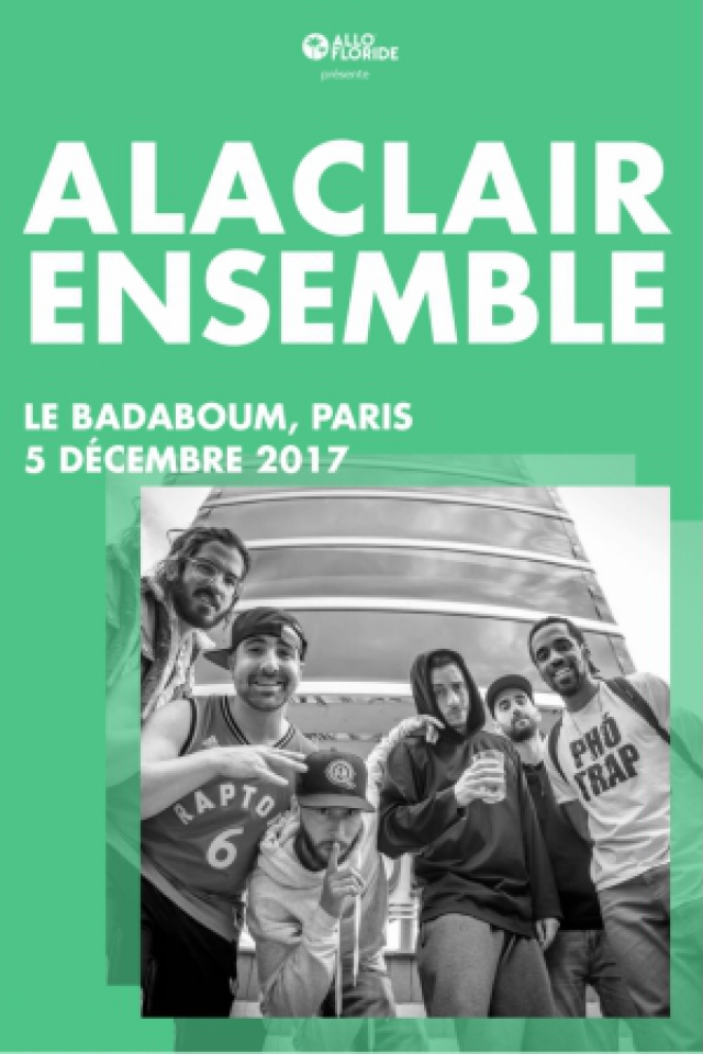 ALACLAIR ENSEMBLE + GUEST @ Badaboum - PARIS