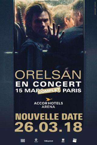 Concert ORELSAN à PARIS 12 @ ACCORHOTELS ARENA - Billets & Places