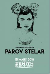 Billets PAROV STELAR - Zénith Paris La Villette