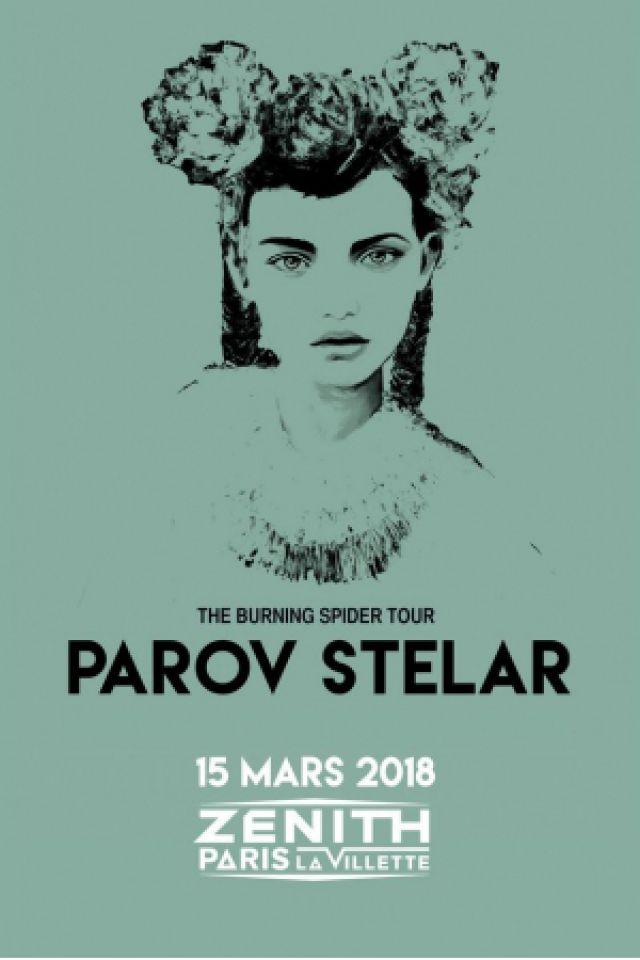 Concert PAROV STELAR à Paris @ Zénith Paris La Villette - Billets & Places