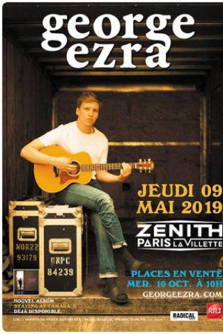 Concert GEORGE EZRA à Paris @ Zénith Paris La Villette - Billets & Places
