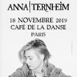 Concert ANNA TERNHEIM à Paris @ Café de la Danse - Billets & Places
