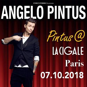 Angelo Pintus dans Pintus@Paris  @ La Cigale - Paris