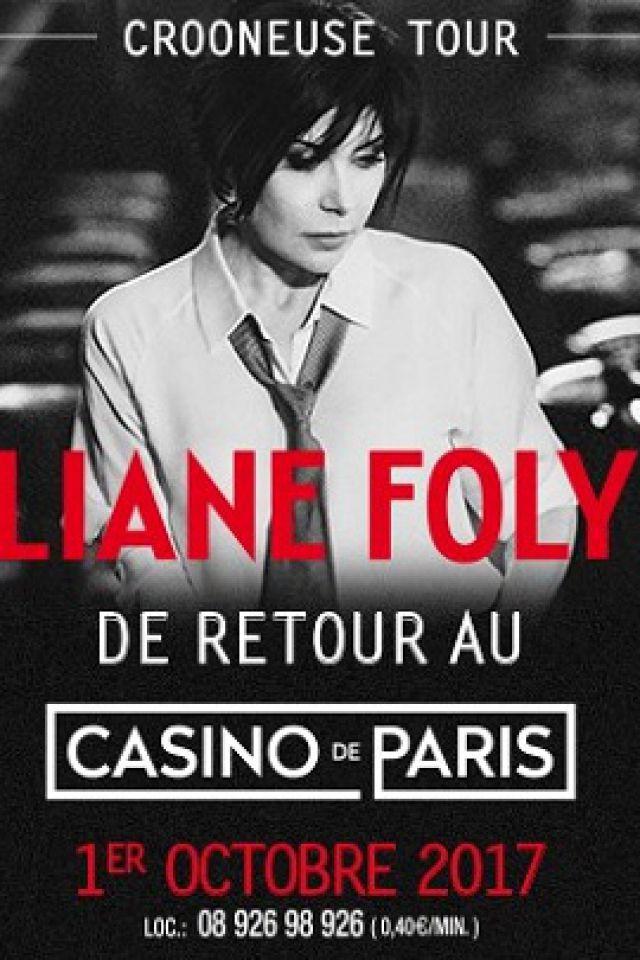 """LIANE FOLY """"crooneuse tour"""" @ Casino de Paris - Paris"""