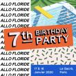 Soirée Allo Floride Birthday : samedi