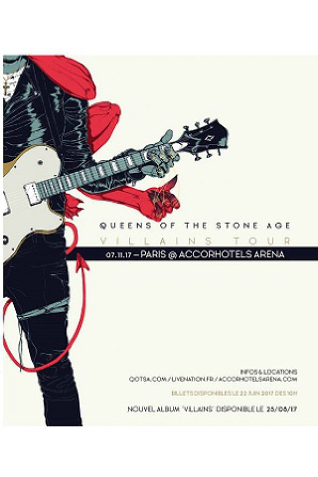 QUEENS OF THE STONE AGE  @ ACCORHOTELS ARENA - PARIS 12