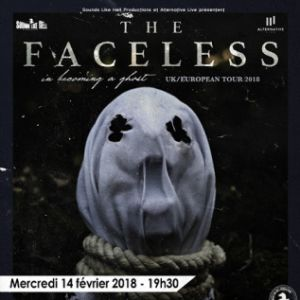 THE FACELESS @ WarmAudio - DÉCINES CHARPIEU