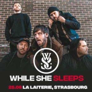 While She Sleeps  + Shvpes