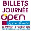 OPEN SUD DE FRANCE 2012