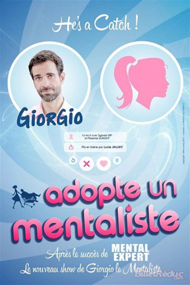 GIORGIO adopte un mentaliste @ Centre Culturel Pierre Messmer - Saint-avold