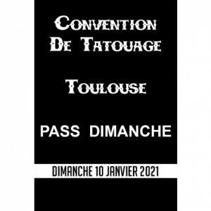 Convention Tatouage Toulouse Pass Dimanche