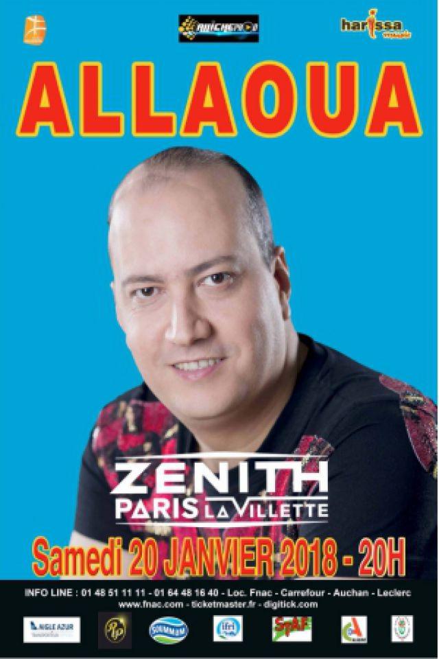 ALLAOUA @ Zénith Paris La Villette - Paris