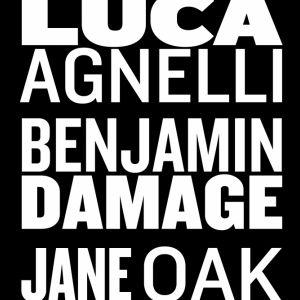 Luca Agnelli, Benjamin Damage, Jane Oak @ Wanderlust - PARIS