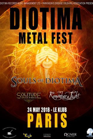Concert DIOTIMA METAL FEST à Paris @ Le Klub - Billets & Places