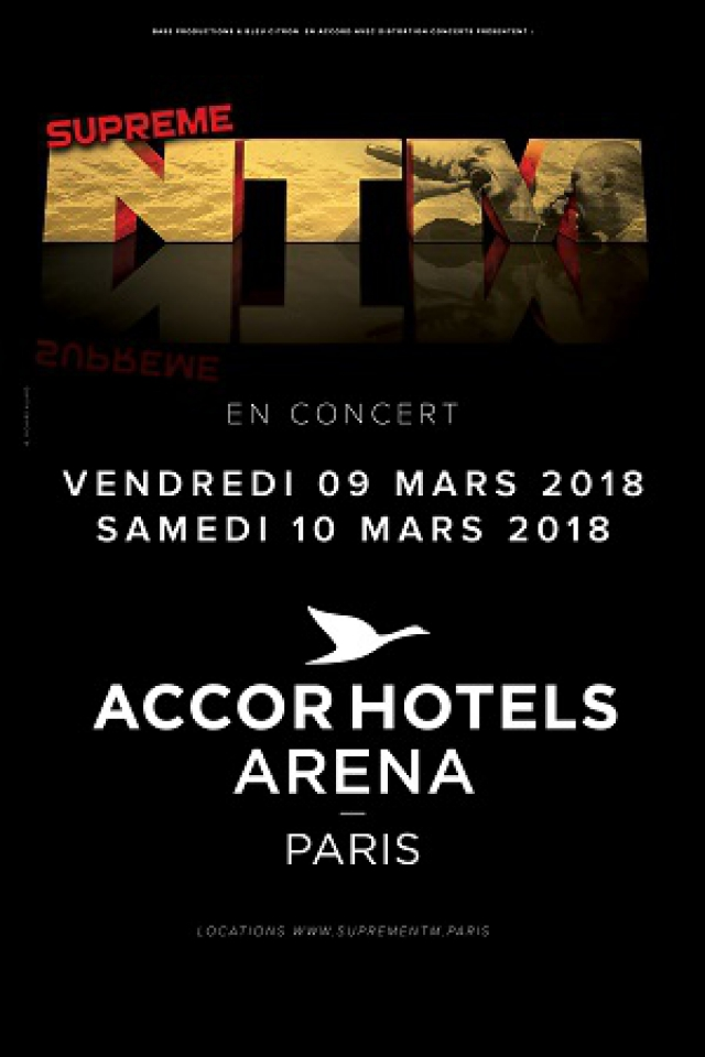 Suprême NTM @ ACCORHOTELS ARENA - PARIS 12