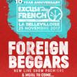 Soirée EXCUSE MY FRENCH: 10 YEAR ANNIVERSARY à Paris @ La Bellevilloise - Billets & Places