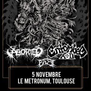 Entombed Ad / Aborted + Baest | Le Métronum, Toulouse