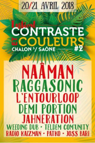 Billets Festival Contraste et Couleurs - PASS 2 JOURS - Parc des Expositions