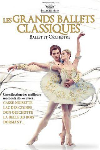 Billets LES GRANDS BALLETS CLASSIQUES - Zenith de Strasbourg - Europe