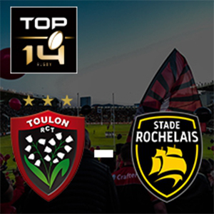 Carte RC TOULON - LA ROCHELLE