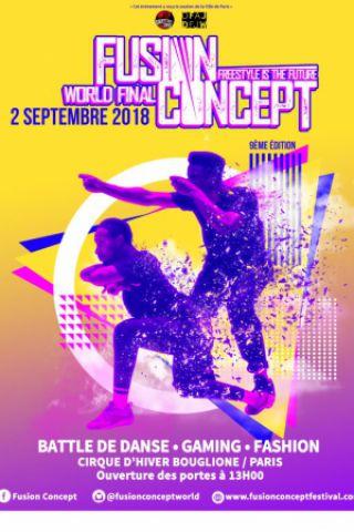 Festival Fusion Concept World Final 2018 à PARIS @ Cirque d'hiver Bouglione - Billets & Places