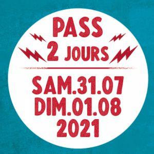Festival Musicalarue 2021 Pass 2 Jours - J2+J3