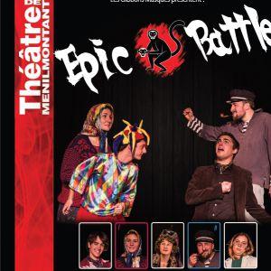 Epic Battle : Cabaret d'Impro @ Théâtre de Ménilmontant - Le Labo - Paris