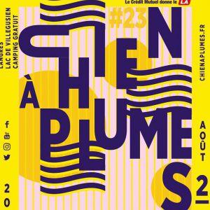 Festival Le Chien A Plumes 2019  - Pass 3 Jours