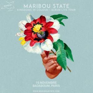 Maribou State -  prevente @ Badaboum - PARIS