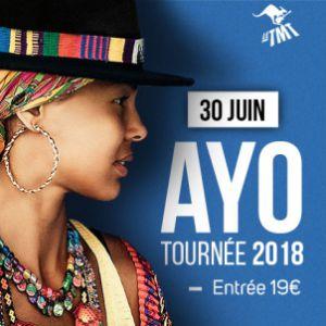 Ayo (tournée 2018) - Le TMT Festival 2018 @ Place de la Tuilière - SAINT SATURNIN LÈS APT
