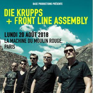 Die Krupps + Front Line Assembly @ La Machine du Moulin Rouge - Paris