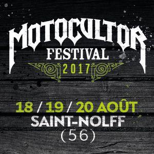 Billets MOTOCULTOR FESTIVAL 2017 - PASS 3 JOURS - Site de Kerboulard
