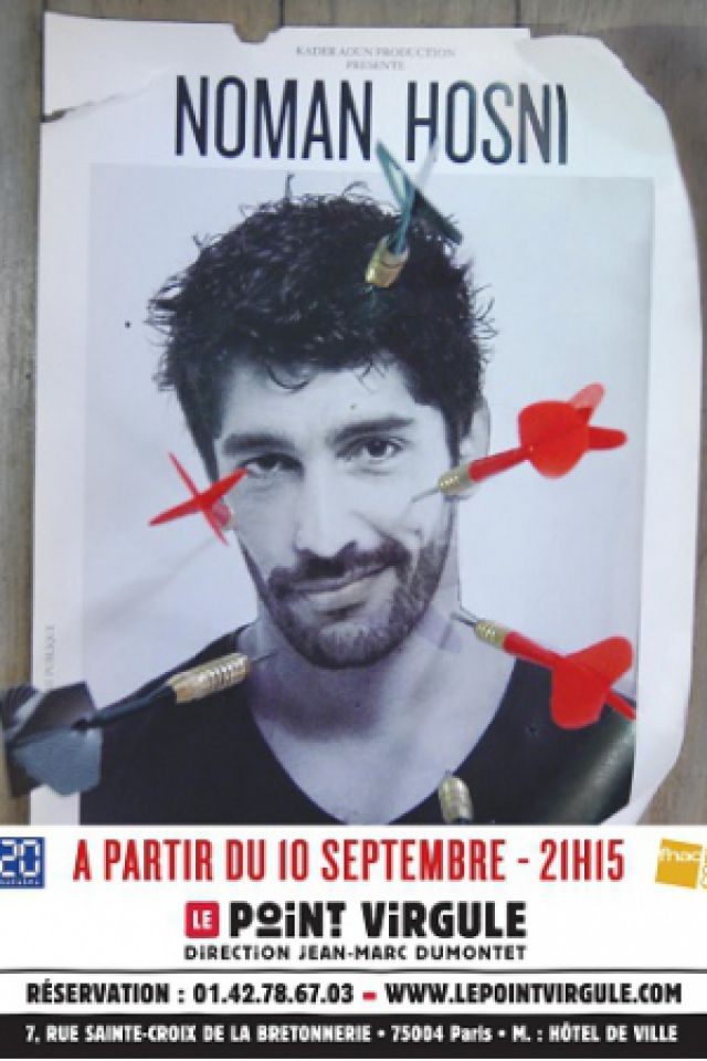 NOMAN HOSNI @ Théâtre Le Point Virgule - PARIS