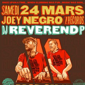 Motown Party : Joey Negro & DJ Reverend P @ Badaboum - PARIS