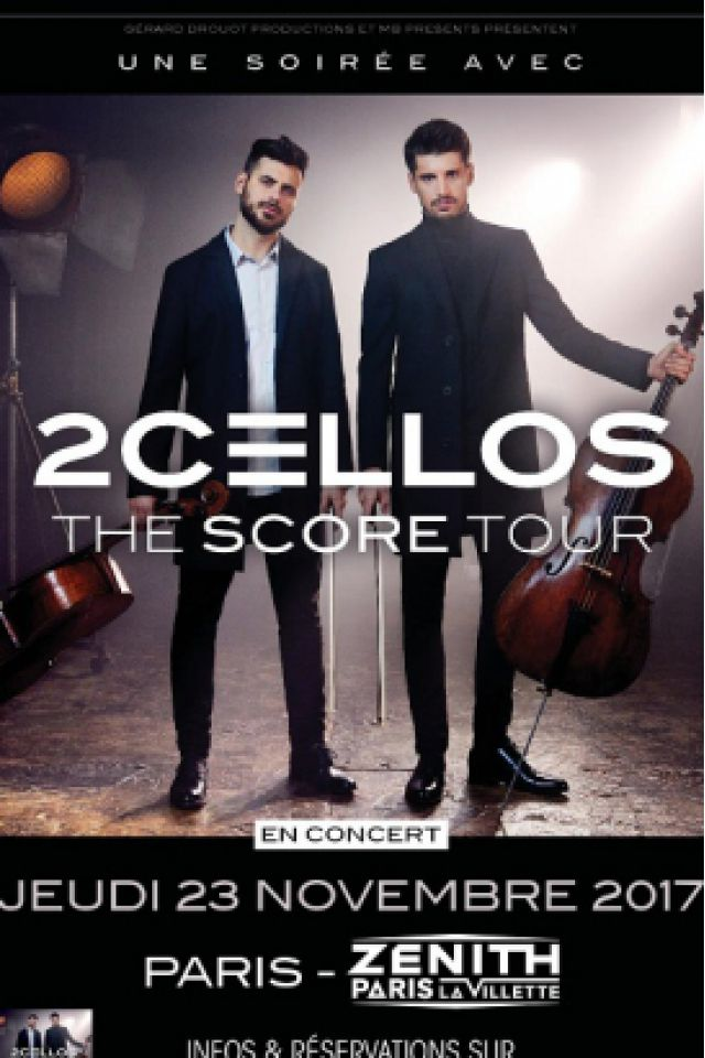 Billets 2CELLOS - Zénith Paris La Villette