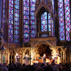 AVE MARIA - SCHUBERT/GOUNOD/CACCINI @ La Sainte Chapelle - PARIS
