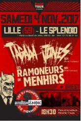 Concert TAGADA JONES + LES RAMONEURS DE MENHIRS